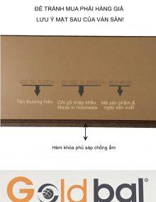 sàn gỗ gold bal 2615