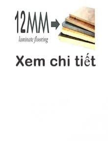 Sàn gỗ THAIEVER 12mm (Bản nhỏ)