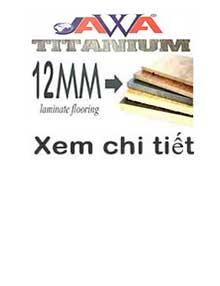 SÀN GỖ JAWA TITANIUM 12MM (CDF)
