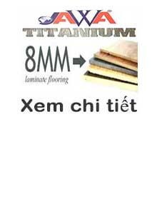 SÀN GỖ JAWA TITANIUM 8MM (CDF)