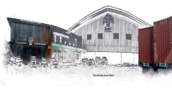 Nhà máy sàn gỗ Rainforest