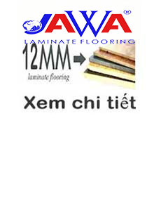 Sàn gỗ JAWA 12mm