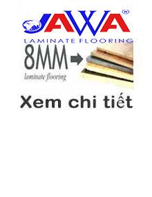 Sàn gỗ JAWA 8mm