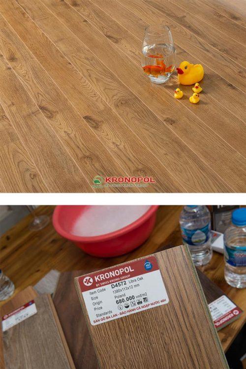 Sàn gỗ kronopol d4572 12mm ba lan