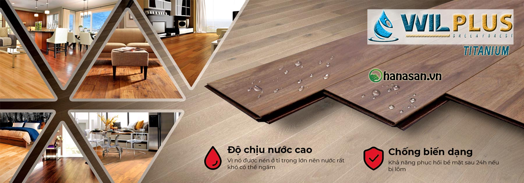 danh mục sàn gỗ wilplus titanium