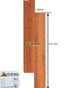 sàn gỗ clevel 638-2
