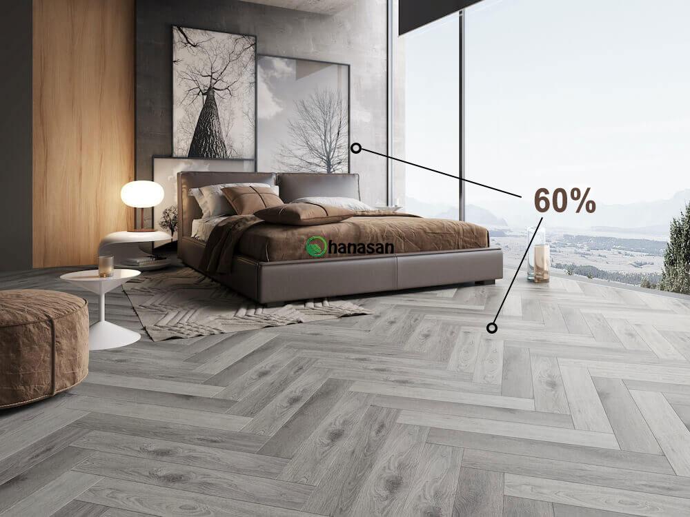 cách phối màu sàn gỗ và nội thất