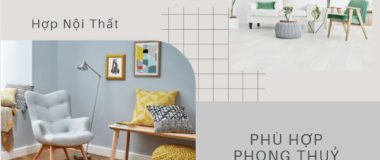 cách phối màu sàn gỗ và nội thất đẹp hợp phong thuỷ