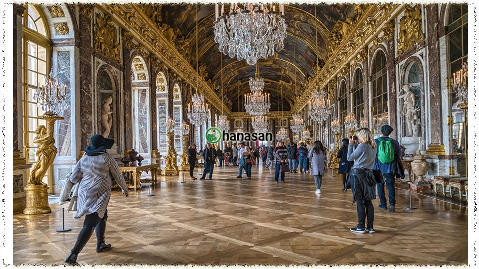 Sàn gỗ cung điện versailles Pháp