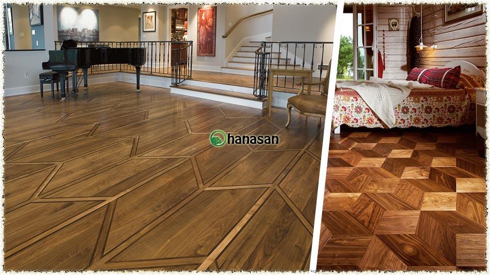 Sàn gỗ kiểu lục giác